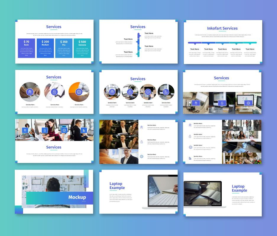 Clean – Business Google Slides Template, Slide 7, 06714, Business Models — PoweredTemplate.com
