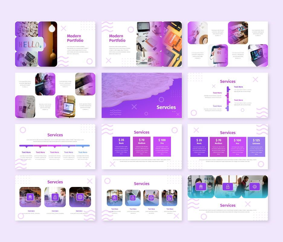 Modern - Business Google Slides Template, Slide 6, 06722, Business Models — PoweredTemplate.com