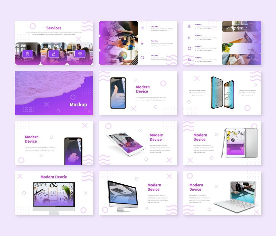 Modern - Business Google Slides Template, Slide 7, 06722, Business Models — PoweredTemplate.com