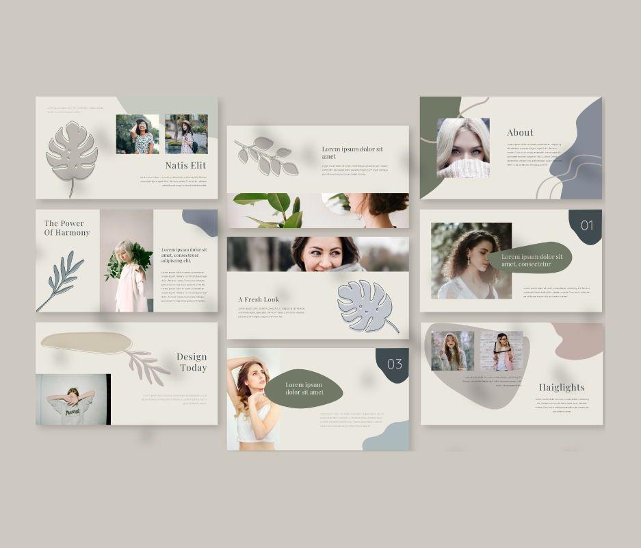 Natis Powerpoint Template, Slide 2, 06724, Business Models — PoweredTemplate.com