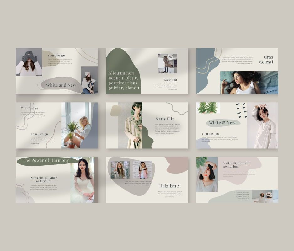 Natis Powerpoint Template, Slide 5, 06724, Business Models — PoweredTemplate.com