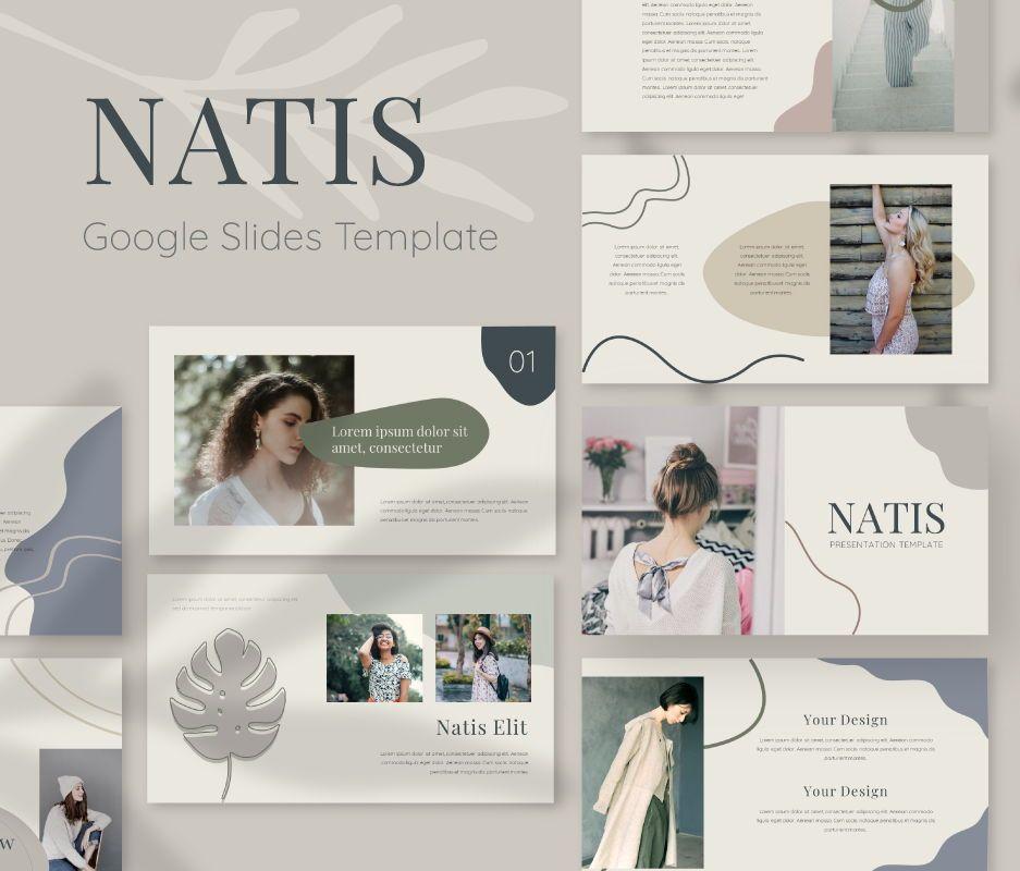 Natis Google Slides Template, 06725, Business Models — PoweredTemplate.com