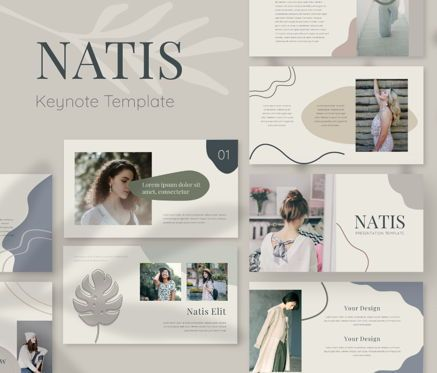 Business Models: Natis Keynote Template #06726