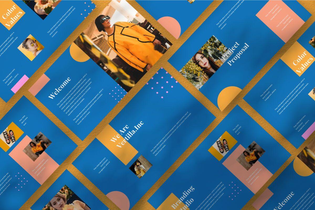 Pastel Brand Powerpoint Template, 06727, Business Models — PoweredTemplate.com