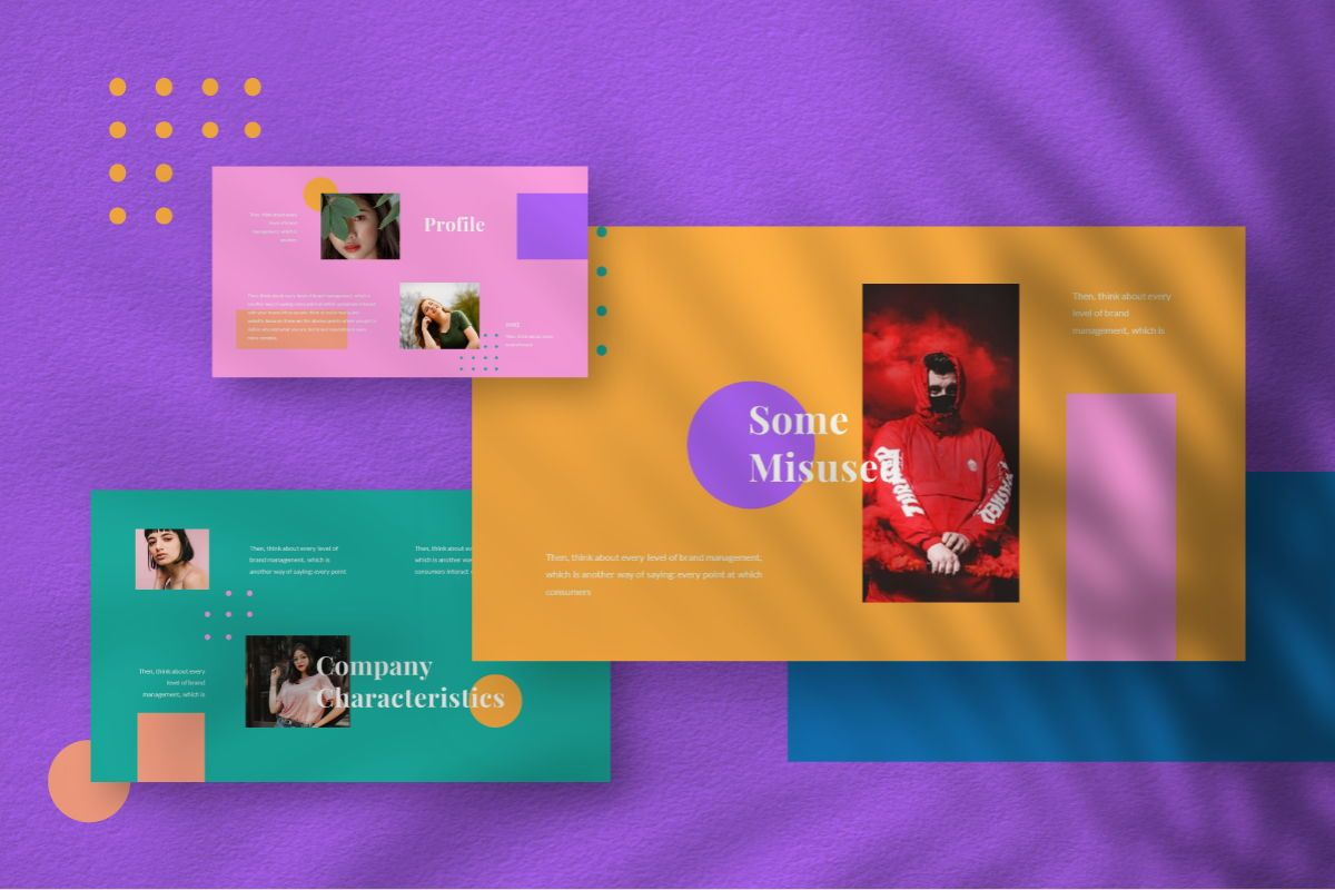 Pastel Brand Powerpoint Template, Slide 2, 06727, Business Models — PoweredTemplate.com