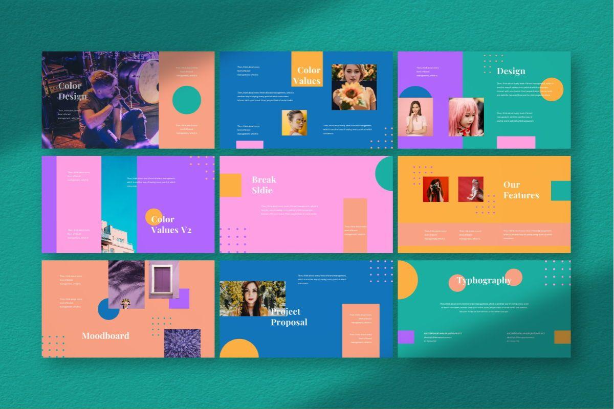 Pastel Brand Powerpoint Template, Slide 5, 06727, Business Models — PoweredTemplate.com