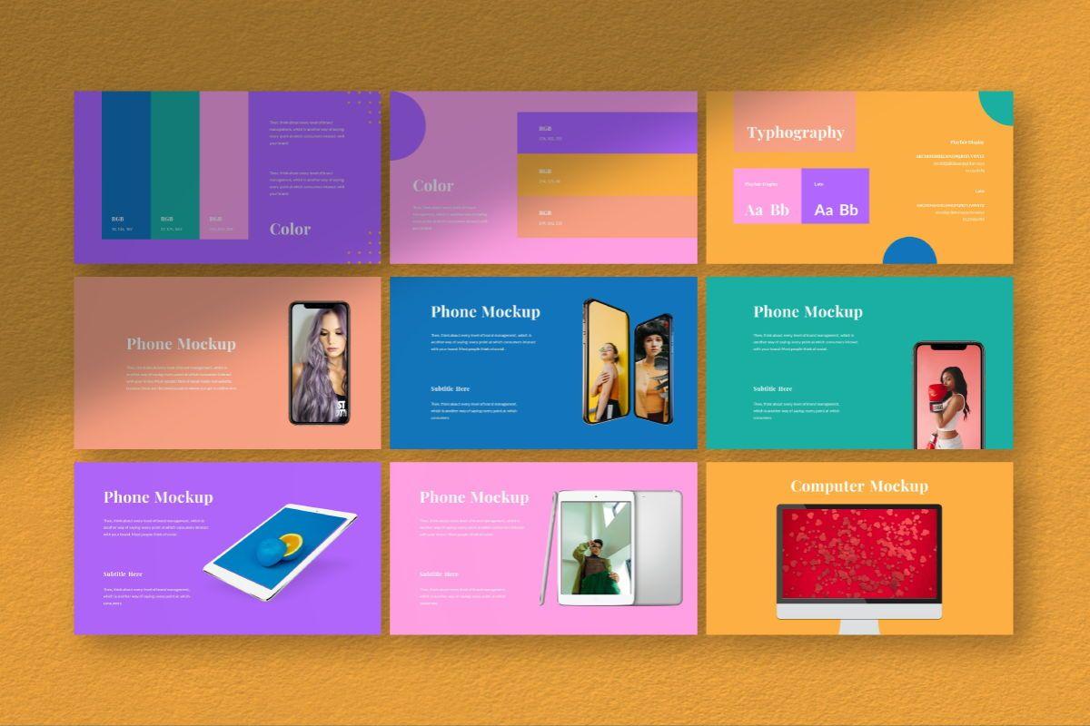 Pastel Brand Powerpoint Template, Slide 6, 06727, Business Models — PoweredTemplate.com