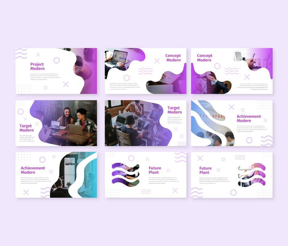Modern - Business Powerpoint Template, Slide 4, 06729, Business Models — PoweredTemplate.com