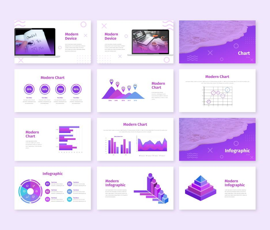Modern - Business Powerpoint Template, Slide 8, 06729, Business Models — PoweredTemplate.com