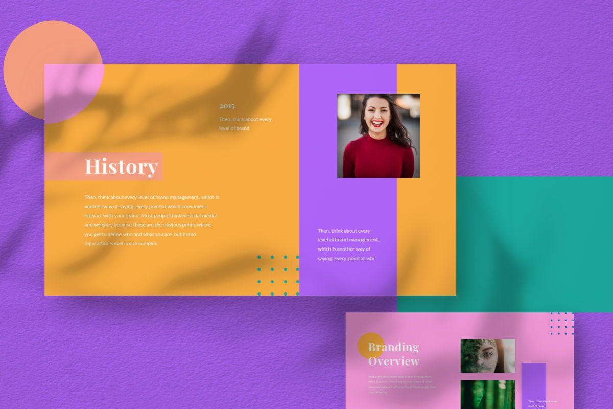 Pastel Brand Keynote Template, Slide 8, 06730, Business Models — PoweredTemplate.com