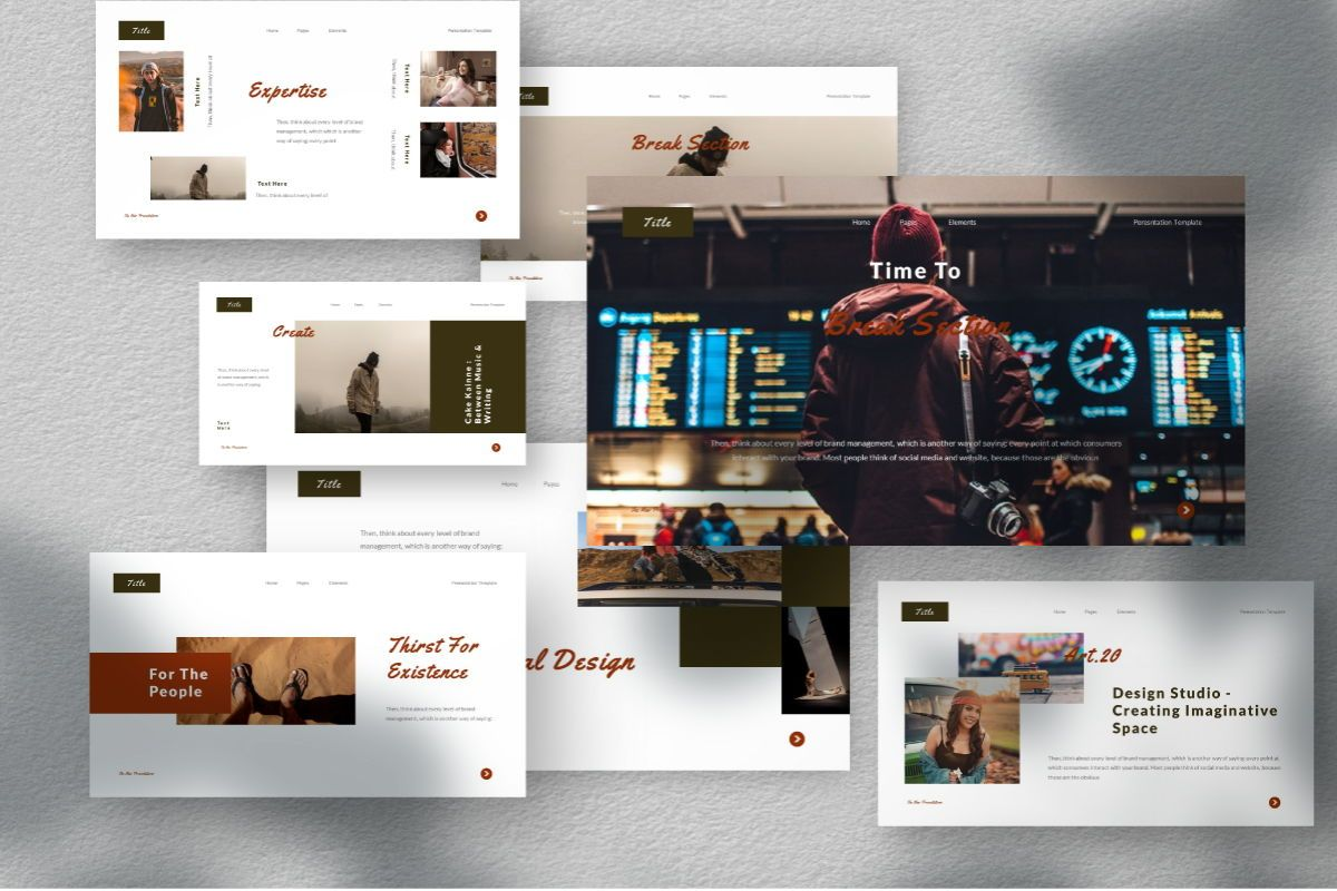The New Google Slides Template, Slide 2, 06732, Business Models — PoweredTemplate.com