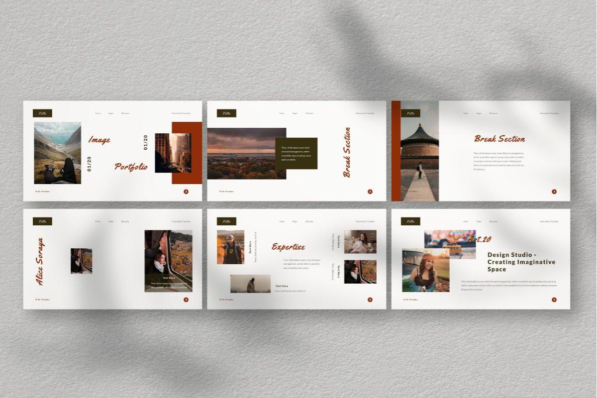 The New Google Slides Template, Slide 5, 06732, Business Models — PoweredTemplate.com
