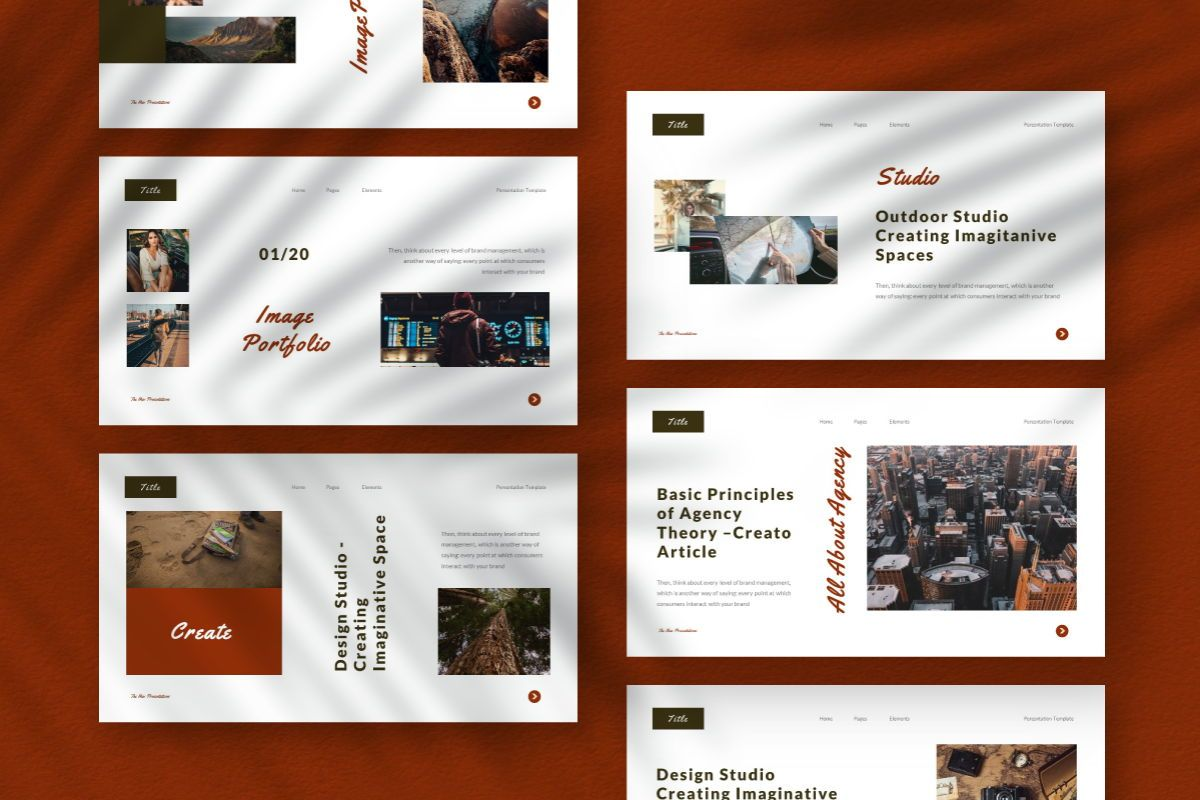 The New Google Slides Template, Slide 9, 06732, Business Models — PoweredTemplate.com