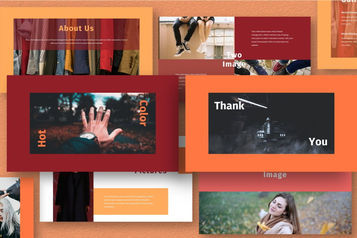 Hot Color Powerpoint Template, Slide 10, 06734, Business Models — PoweredTemplate.com