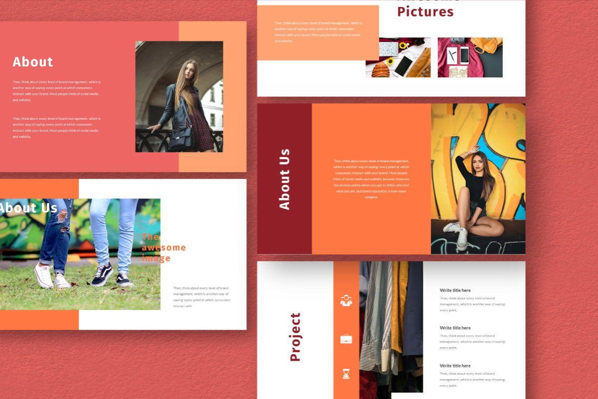 Hot Color Google Slides Template, Slide 2, 06735, Business Models — PoweredTemplate.com