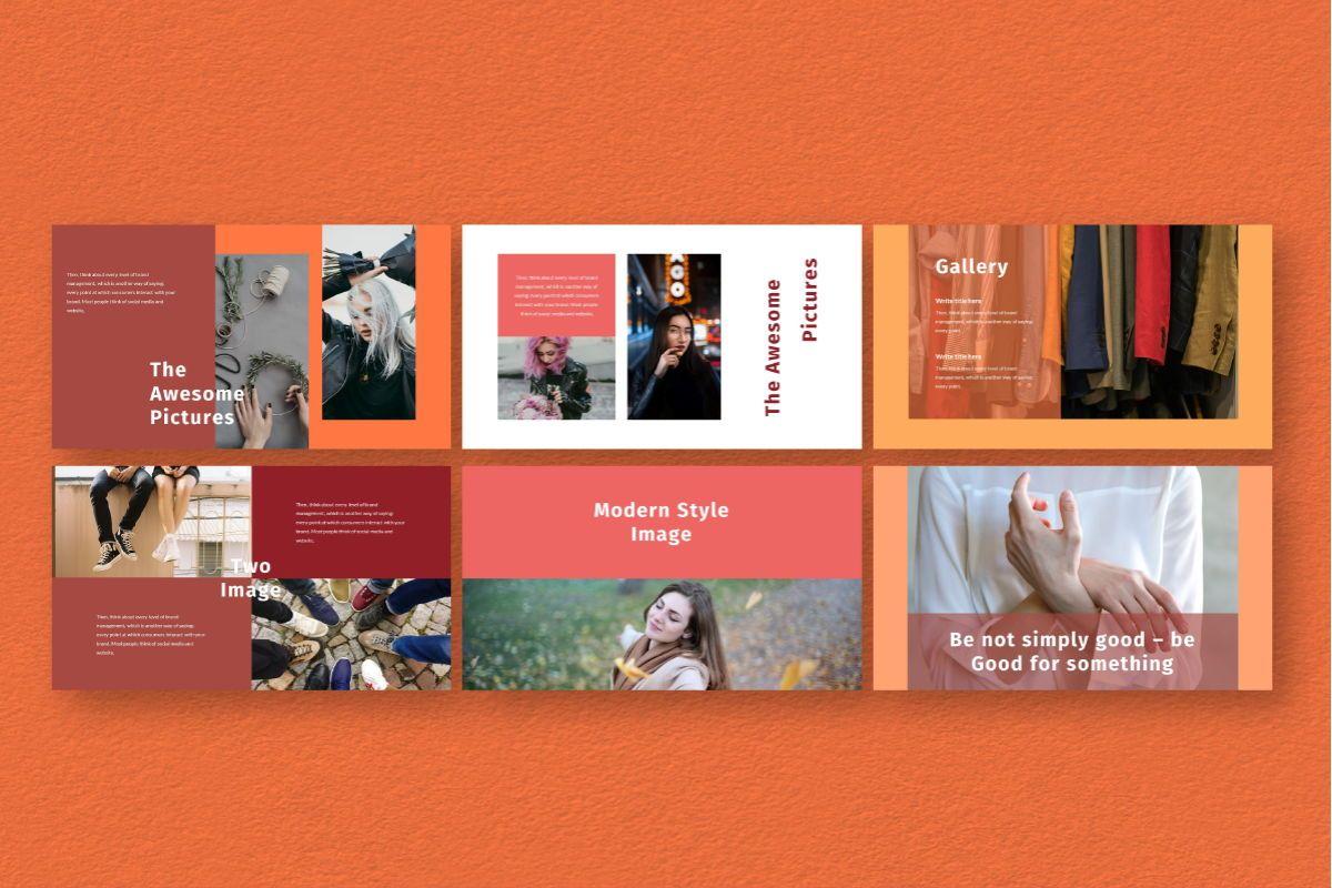Hot Color Keynote Template, Slide 5, 06736, Business Models — PoweredTemplate.com