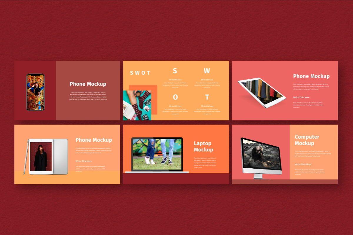 Hot Color Keynote Template, Slide 8, 06736, Business Models — PoweredTemplate.com