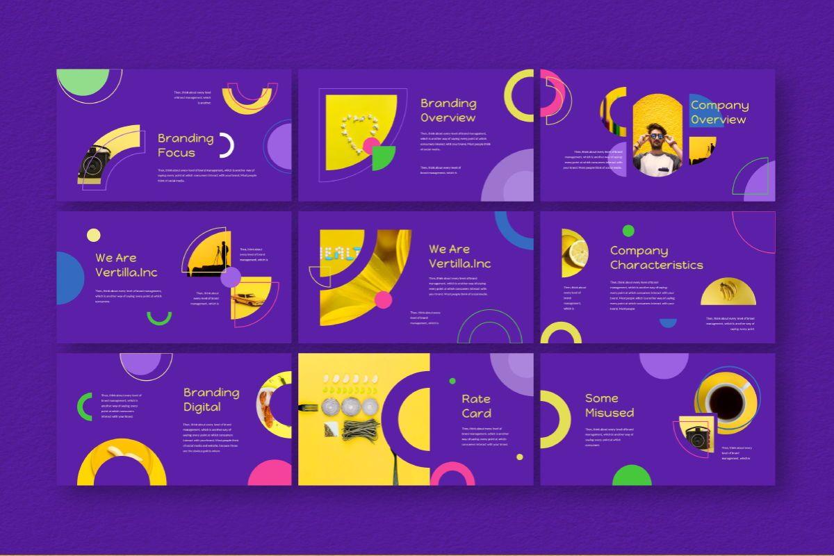 Circle Brand Powerpoint Template, Slide 5, 06737, Business Models — PoweredTemplate.com