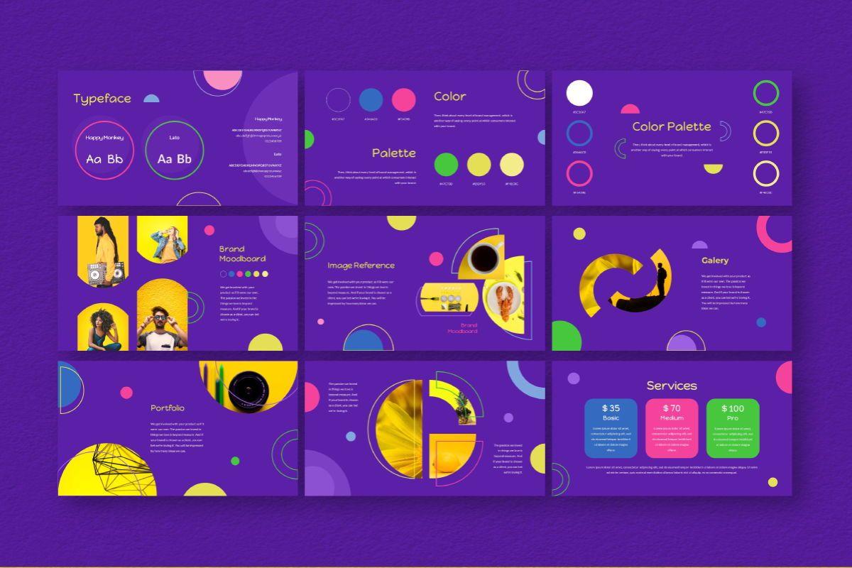 Circle Brand Powerpoint Template, Slide 7, 06737, Business Models — PoweredTemplate.com