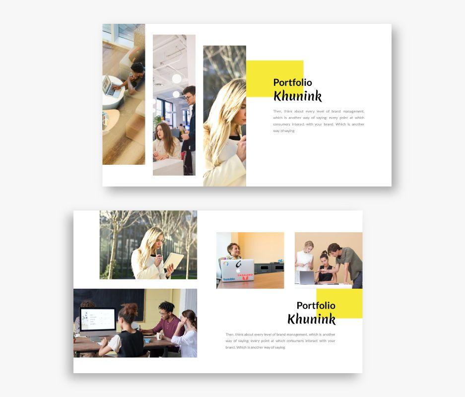 Khunink Business Powerpoint Template, Slide 2, 06746, Business Models — PoweredTemplate.com
