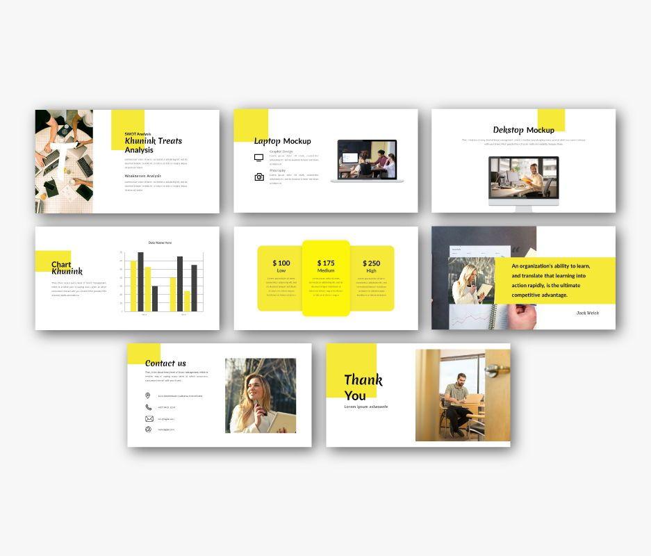 Khunink Business Powerpoint Template, Slide 7, 06746, Business Models — PoweredTemplate.com