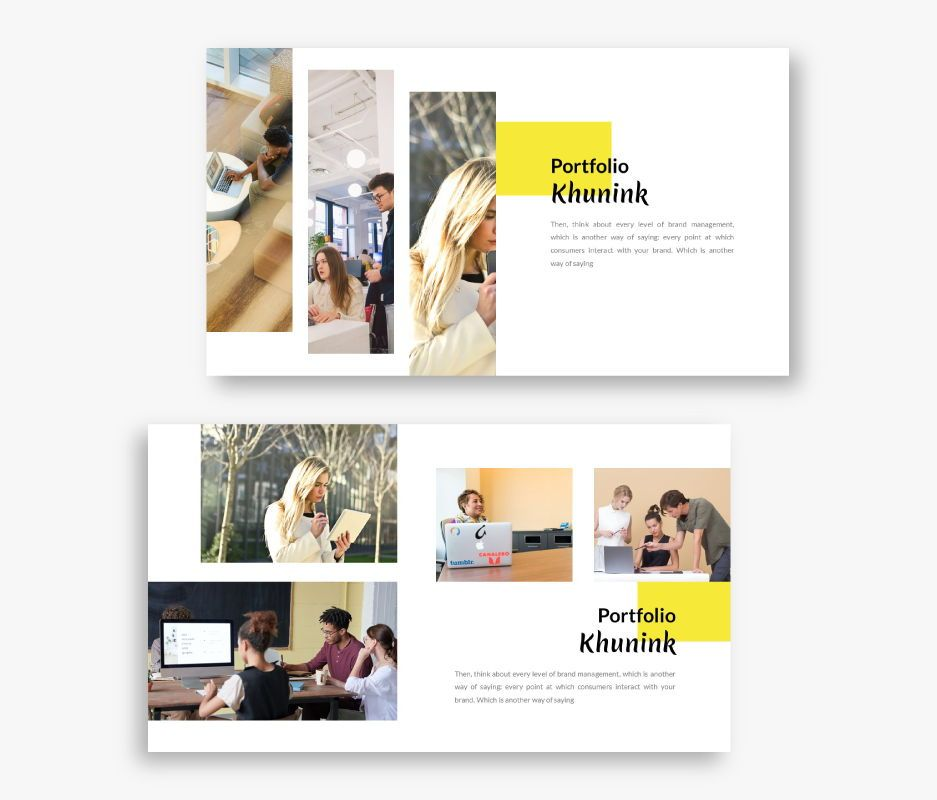 Khunink Business Google Slides Template, Slide 2, 06747, Business Models — PoweredTemplate.com