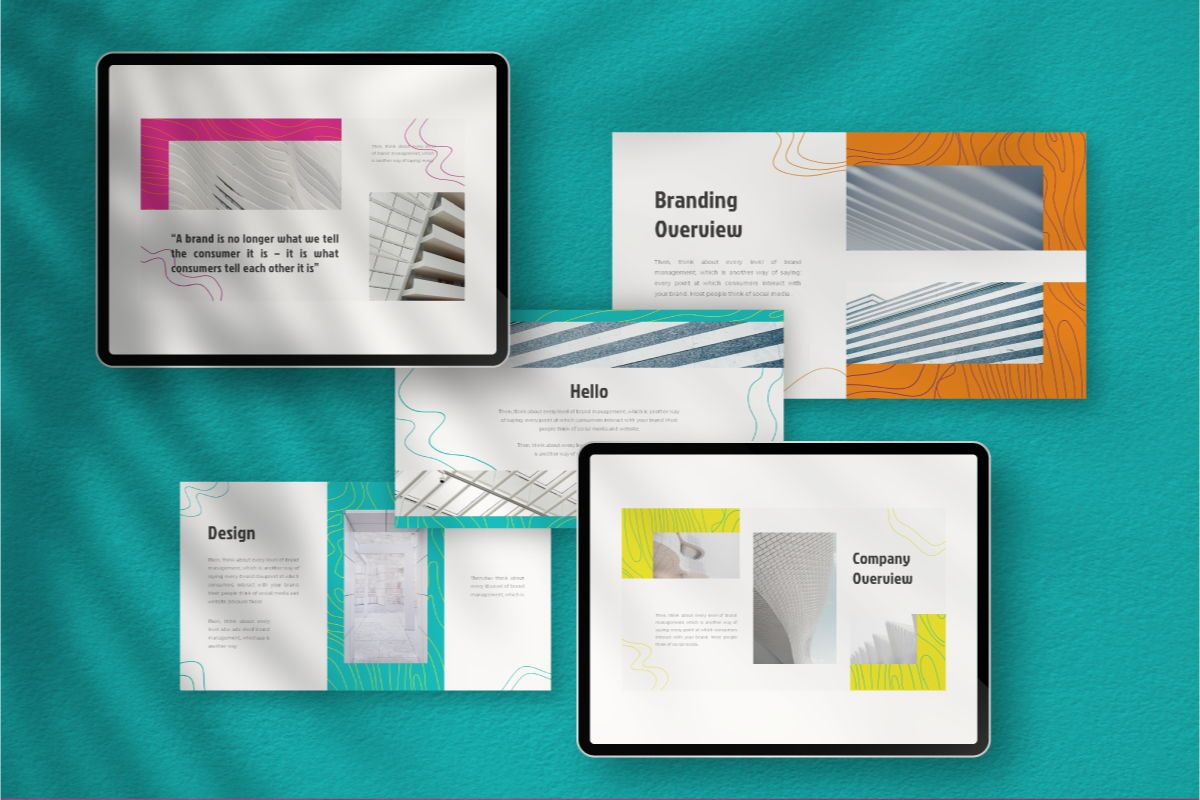Lain Art Brand Powerpoint Template, Slide 2, 06749, Business Models — PoweredTemplate.com