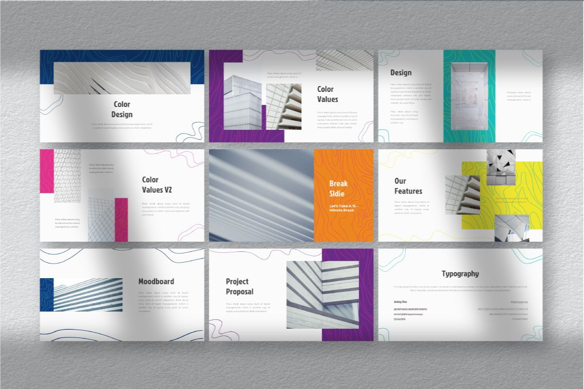 Lain Art Brand Powerpoint Template, Slide 6, 06749, Business Models — PoweredTemplate.com