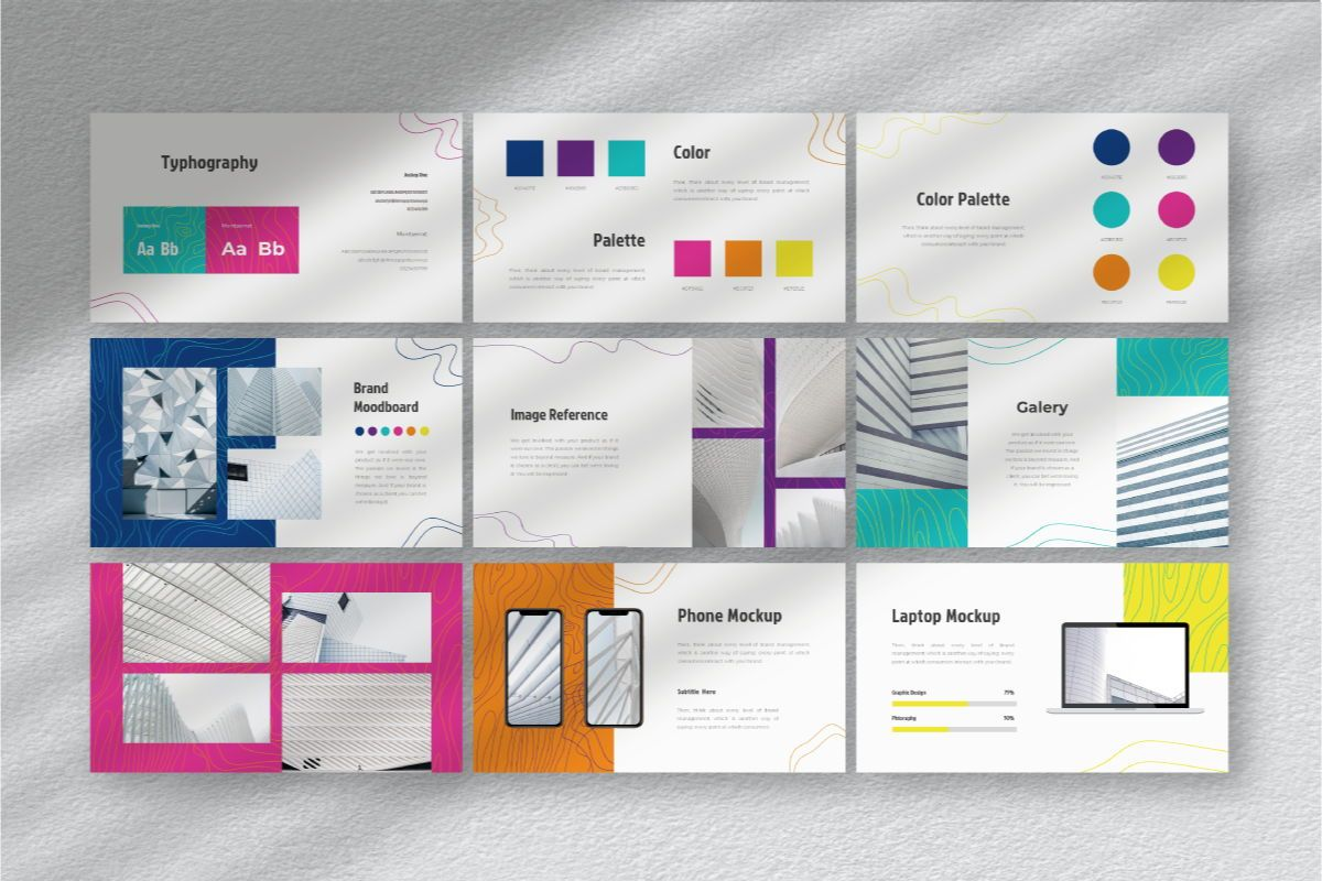 Lain Art Brand Powerpoint Template, Slide 7, 06749, Business Models — PoweredTemplate.com