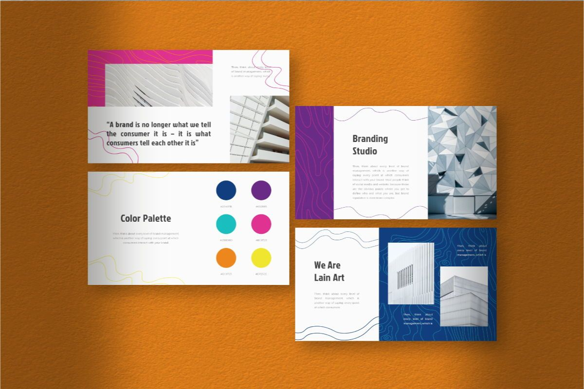 Lain Art Brand Powerpoint Template, Slide 9, 06749, Business Models — PoweredTemplate.com