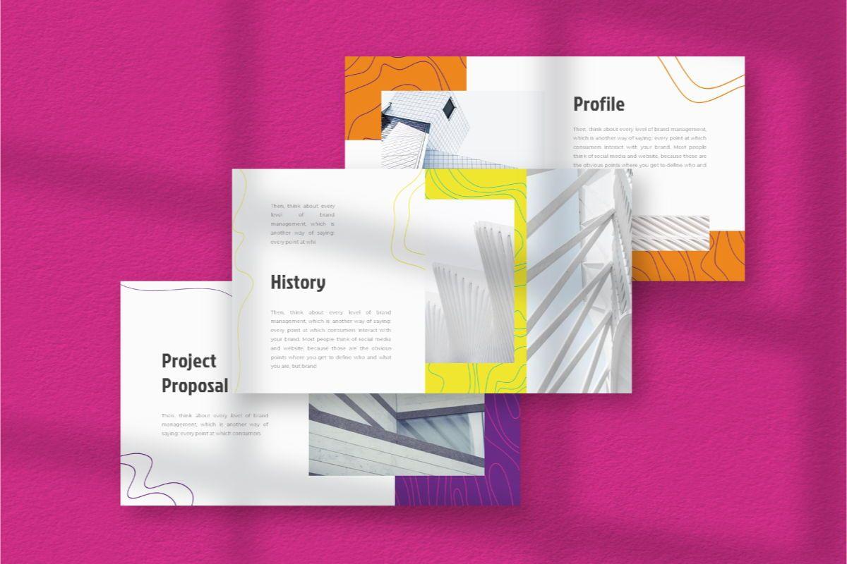 Lain Art Brand Google Slides Template, Slide 3, 06750, Business Models — PoweredTemplate.com