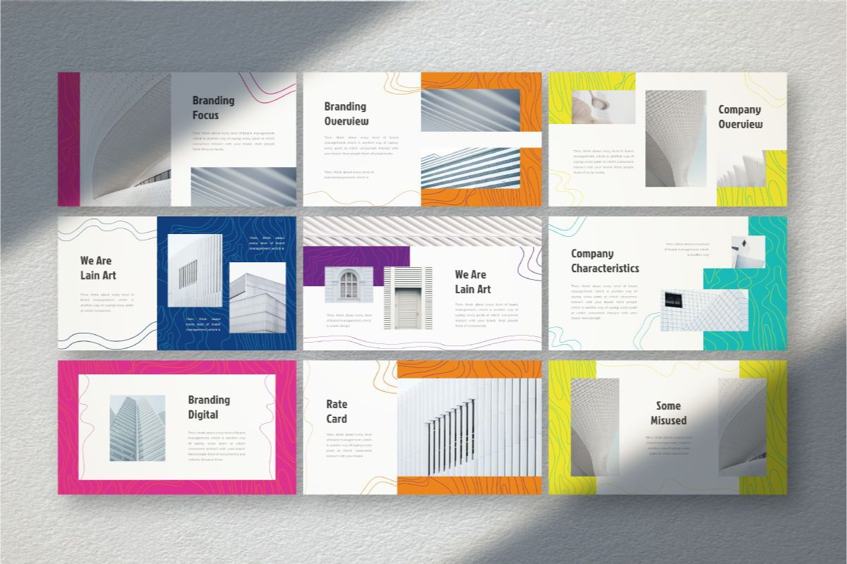 Lain Art Brand Keynote Template, Slide 5, 06751, Business Models — PoweredTemplate.com