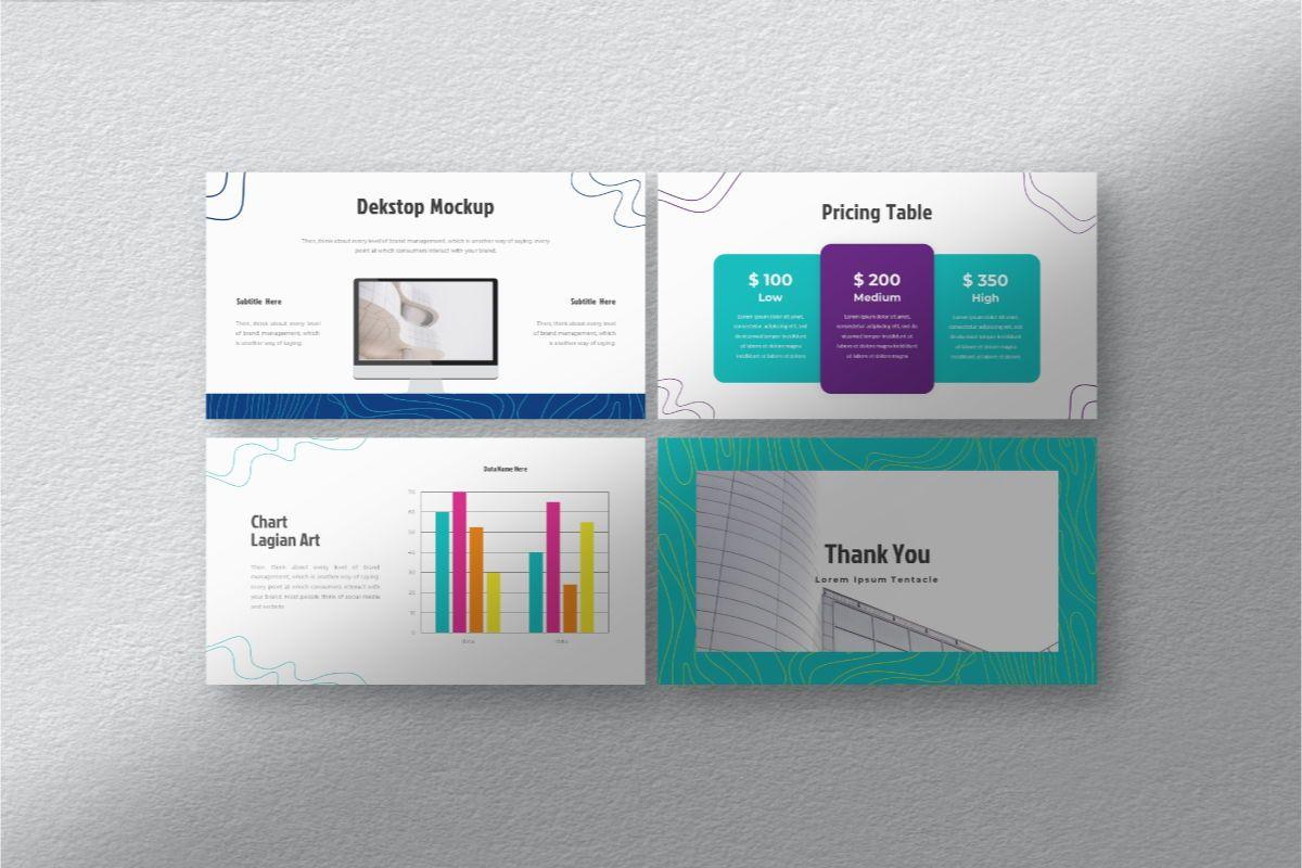 Lain Art Brand Keynote Template, Slide 8, 06751, Business Models — PoweredTemplate.com