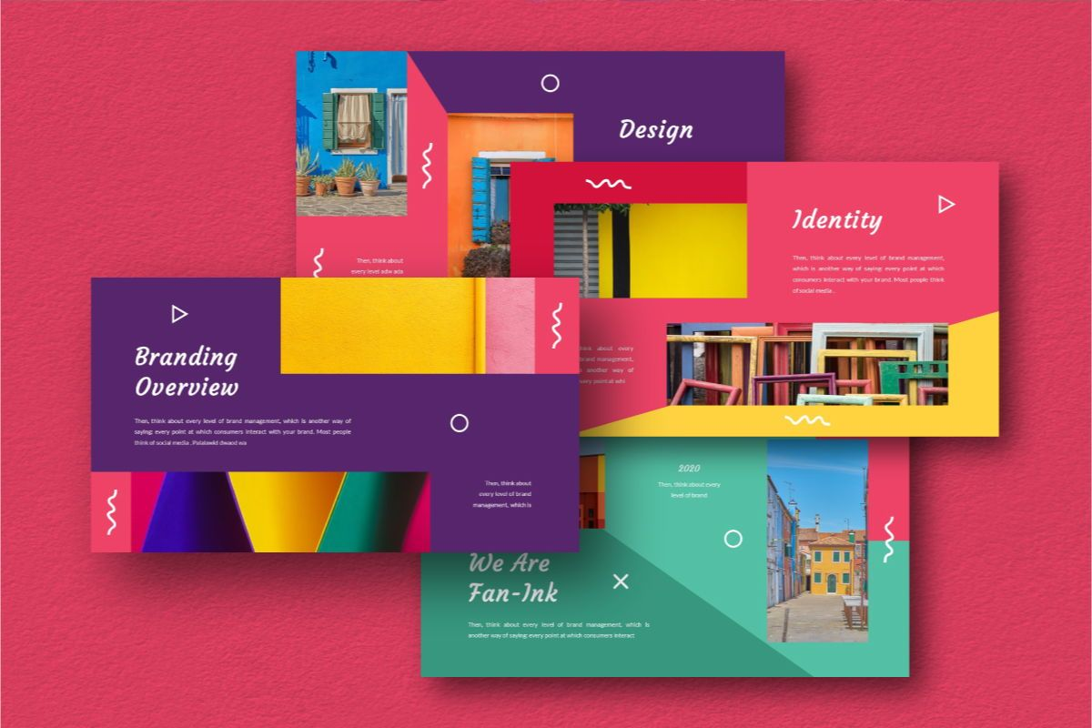 Fan-Ink Brand Powerpoint Template, Slide 2, 06752, Business Models — PoweredTemplate.com
