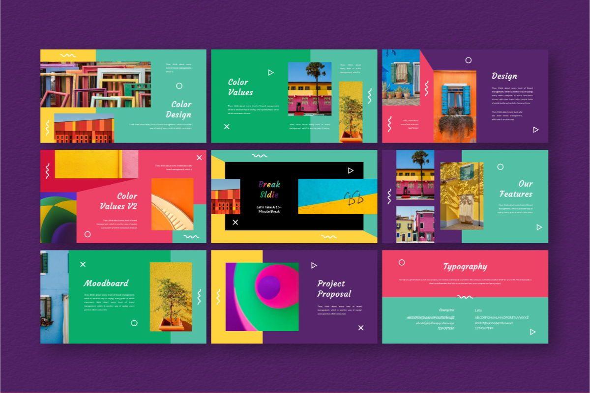 Fan-Ink Brand Powerpoint Template, Slide 5, 06752, Business Models — PoweredTemplate.com