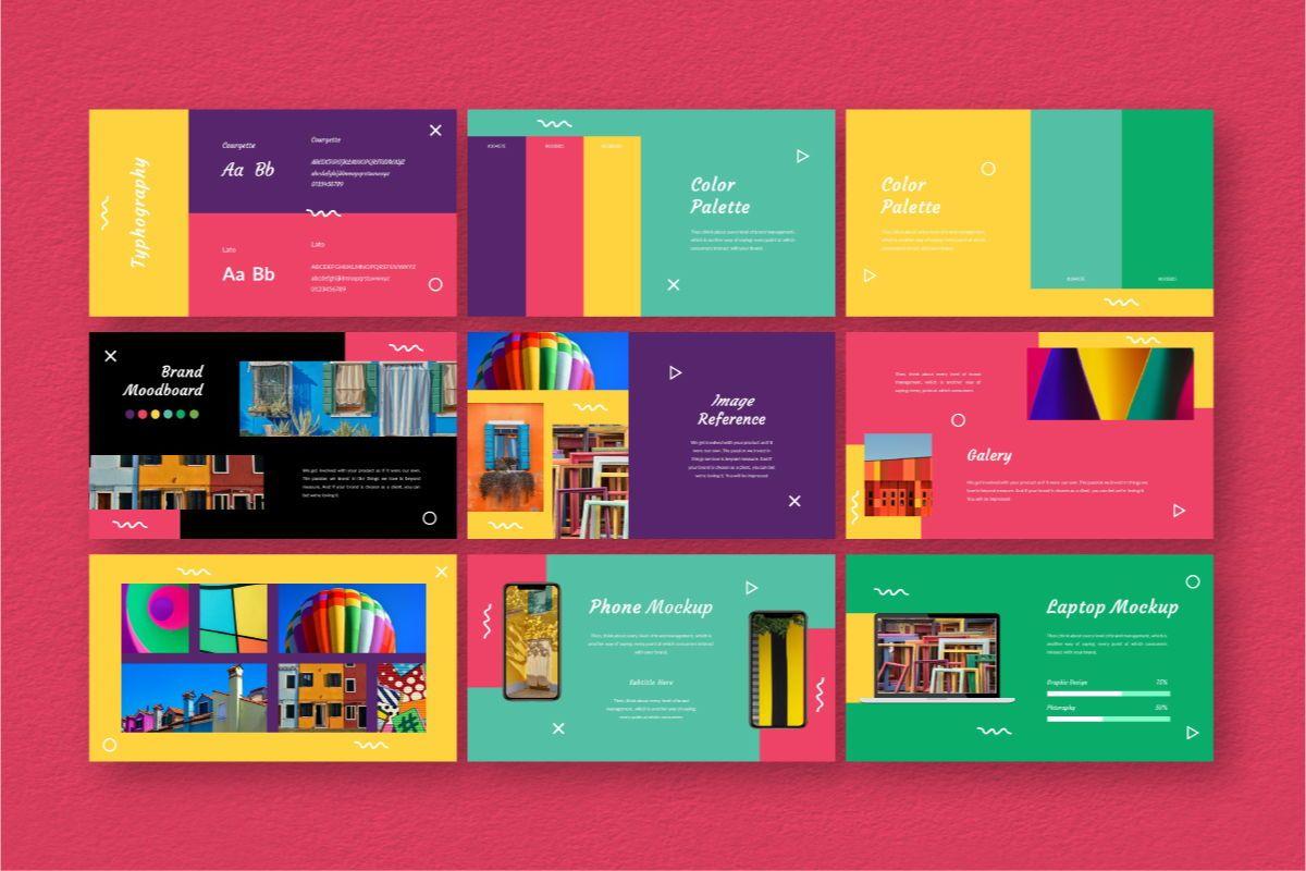 Fan-Ink Brand Powerpoint Template, Slide 6, 06752, Business Models — PoweredTemplate.com