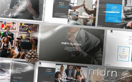 Presentation Templates: MDRN Business Keynote #06756
