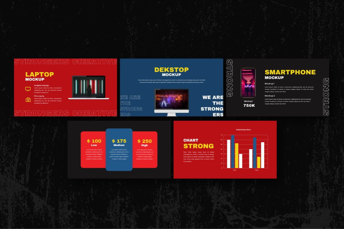 Strongers Creative Powerpoint Template, Slide 7, 06758, Business Models — PoweredTemplate.com