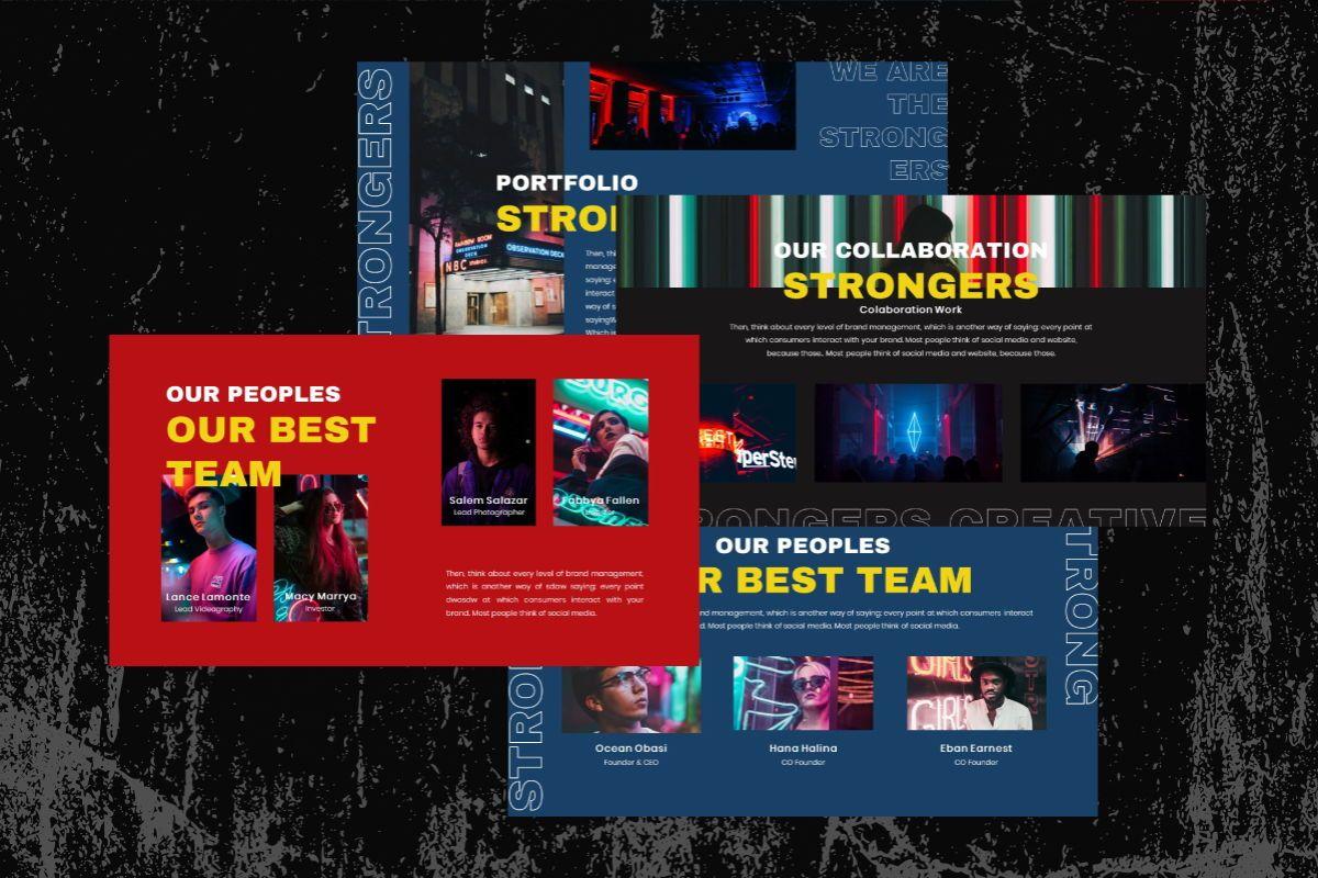 Strongers Creative Google Slides Template, Slide 2, 06759, Business Models — PoweredTemplate.com