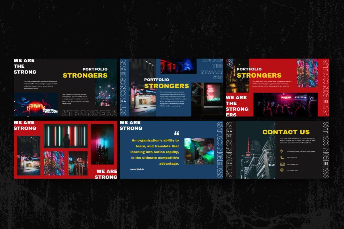 Strongers Creative Google Slides Template, Slide 6, 06759, Business Models — PoweredTemplate.com
