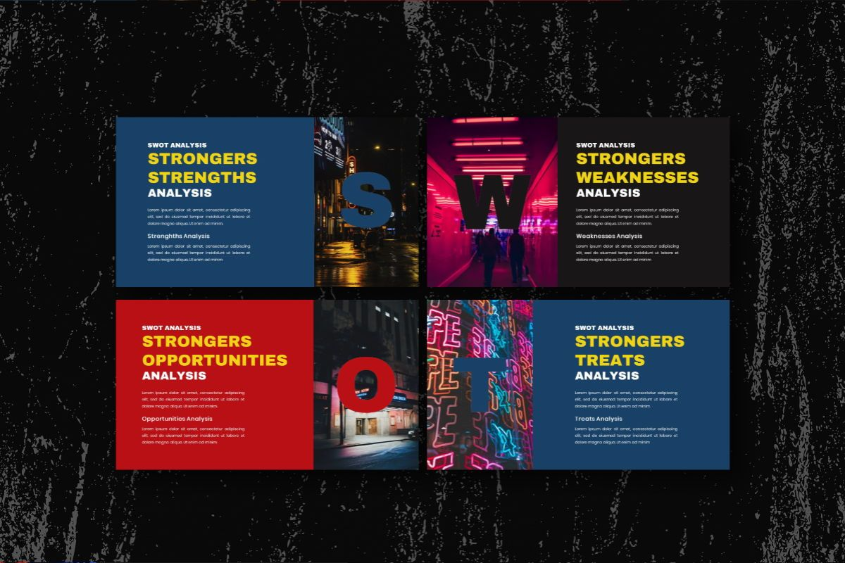 Strongers Creative Keynote Template, Slide 9, 06760, Business Models — PoweredTemplate.com