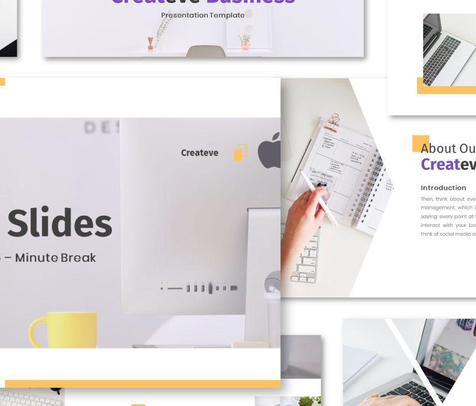 Createve Business Powerpoint Template, 06761, Business Models — PoweredTemplate.com