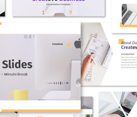 Business Models: Createve Business Google Slides Template #06762