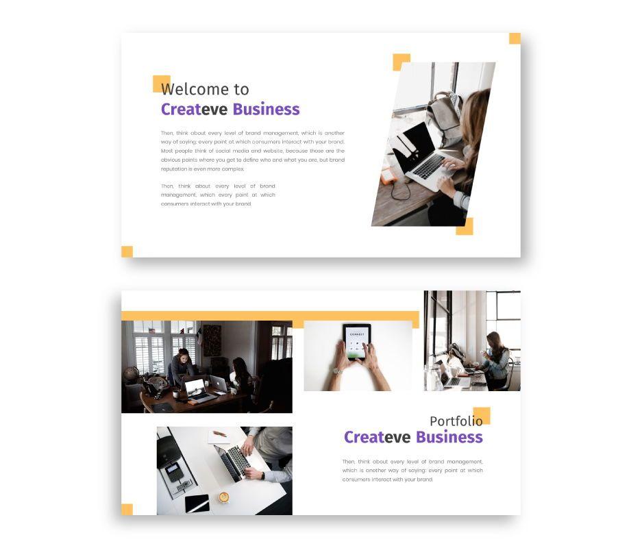 Createve Business Google Slides Template, Slide 2, 06762, Business Models — PoweredTemplate.com