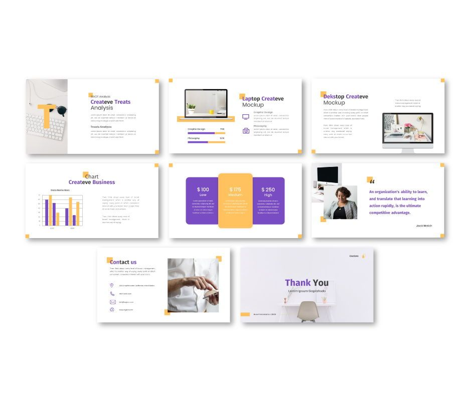 Createve Business Google Slides Template, Slide 7, 06762, Business Models — PoweredTemplate.com