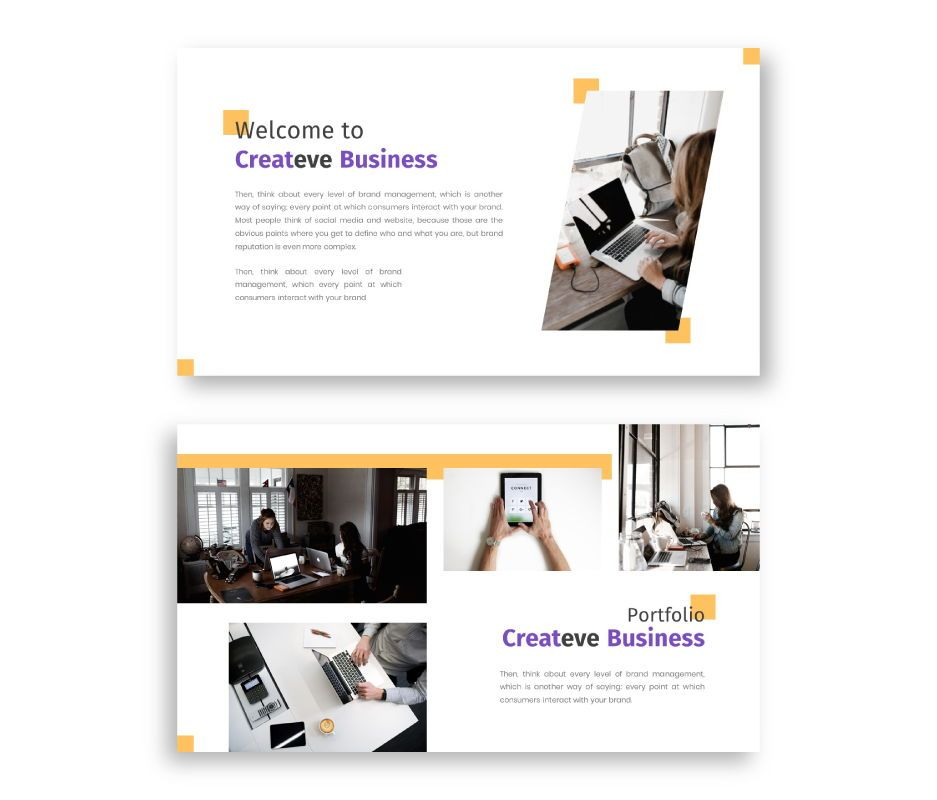 Createve Business Keynote Template, Slide 2, 06763, Business Models — PoweredTemplate.com