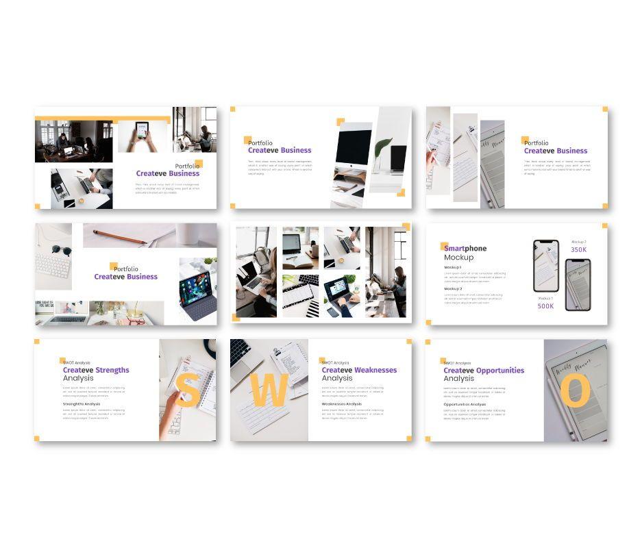 Createve Business Keynote Template, Slide 6, 06763, Business Models — PoweredTemplate.com