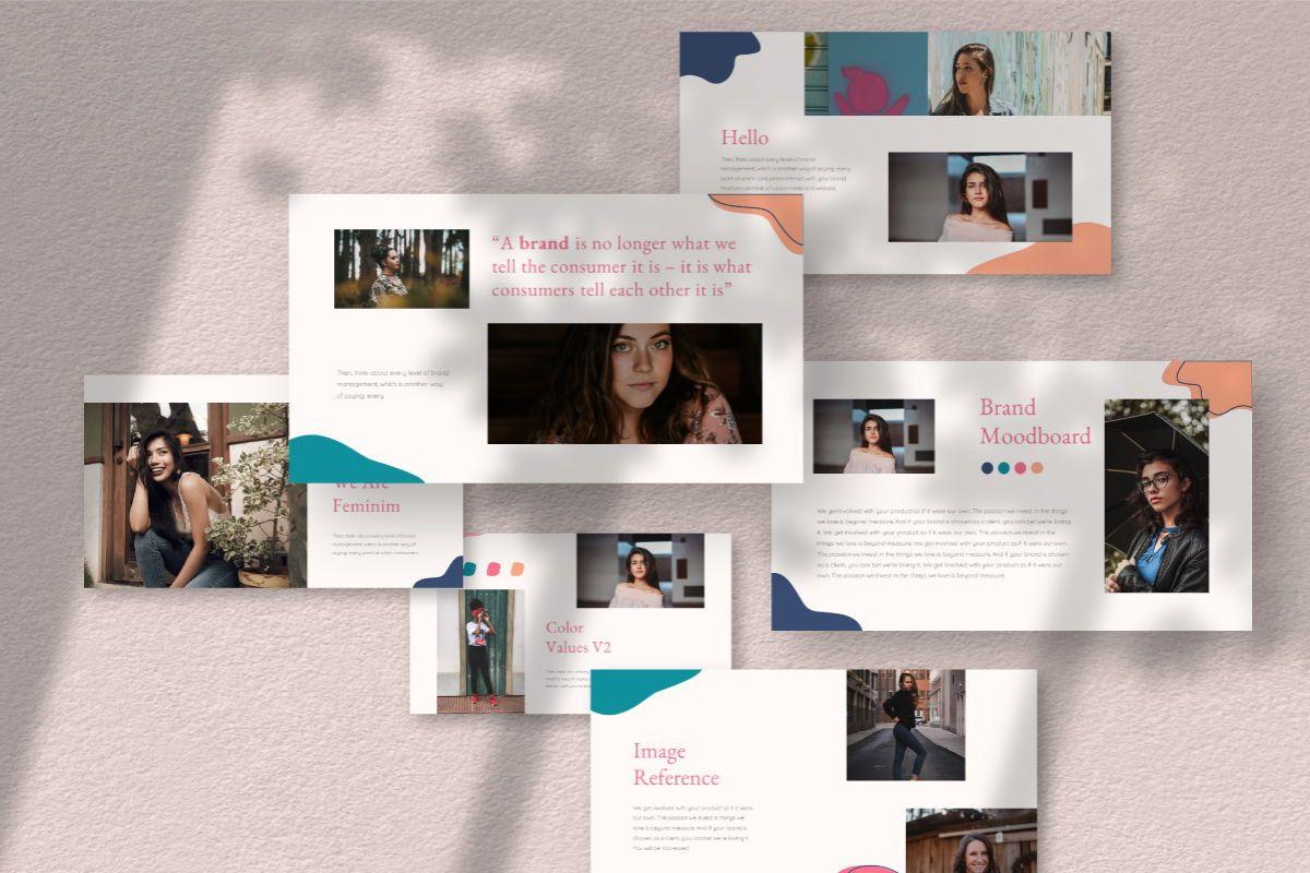 Feminim Brand Keynote Template, Slide 2, 06766, Business Models — PoweredTemplate.com