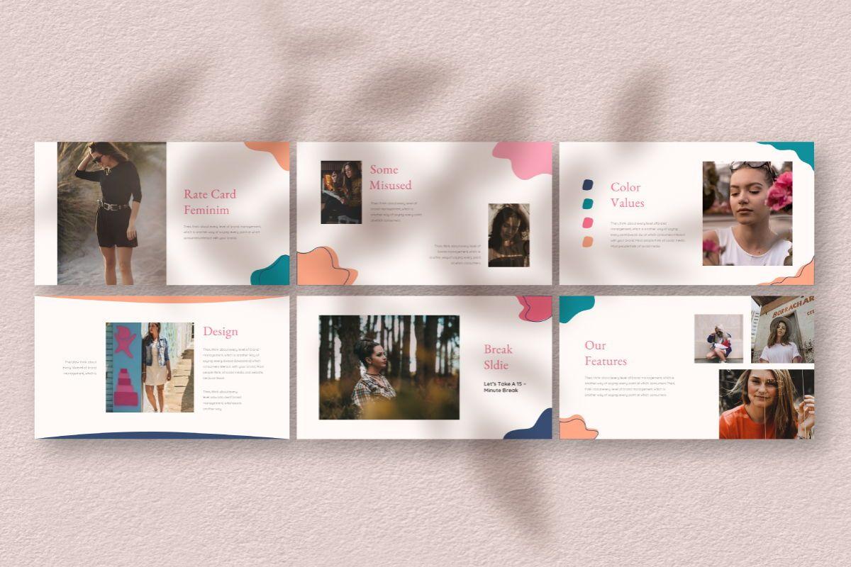 Feminim Brand Keynote Template, Slide 4, 06766, Business Models — PoweredTemplate.com