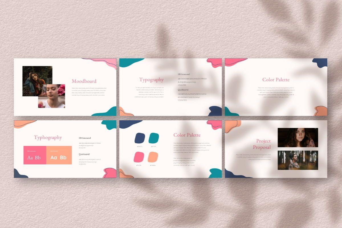 Feminim Brand Keynote Template, Slide 6, 06766, Business Models — PoweredTemplate.com